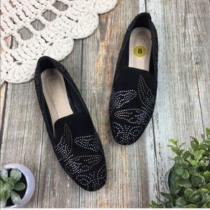 Catherine Malandrino   Butterfly Studded Loafers